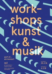 Workshops und Konzert 10.03.2018
