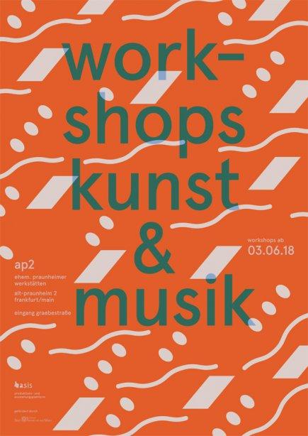 Workshops Kunst & Musik 2018