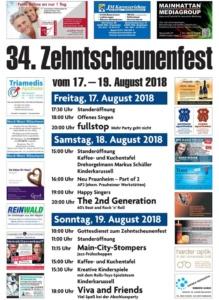 34. Zehntscheunenfest - Praunheim